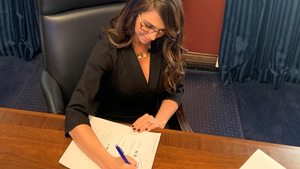 Rep. Boebert Introduces Bill to Block Paris Agreement | Representative  Lauren Boebert