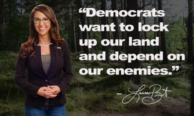 Democrats want to lock up our land and depend on our enemies.